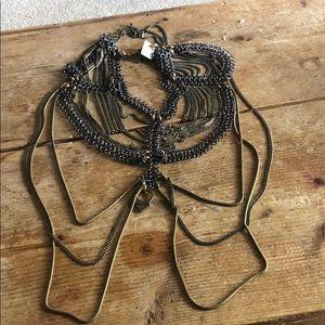 Nasty Gal Jewelry - NWT Nasty Gal Biko Athena Choker Body Chain